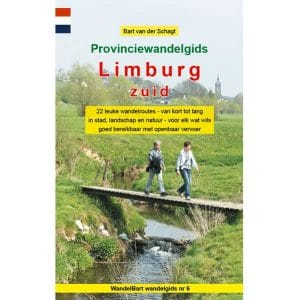 Cover provinciewandelgids Limburg Zuid