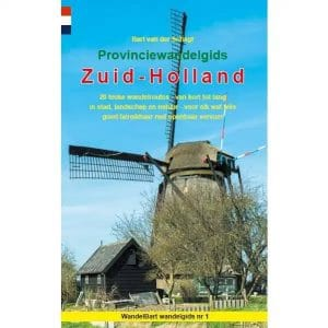 Cover provinciewandelgids Zuid-Holland