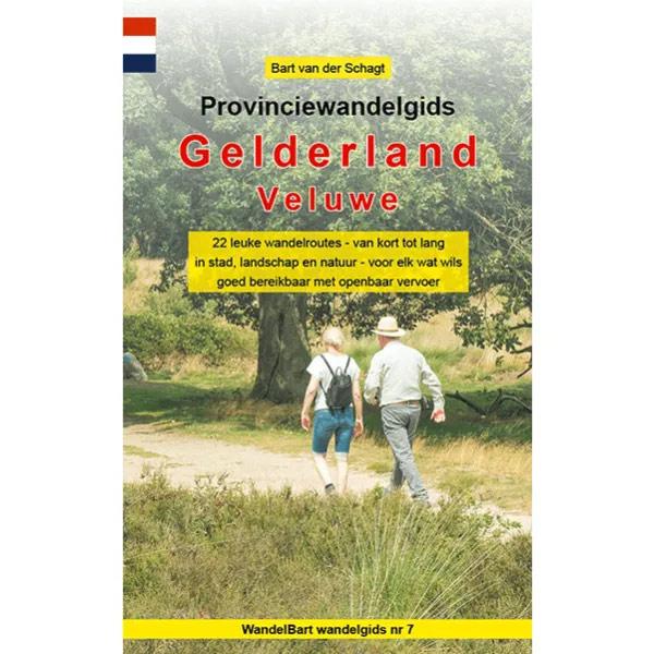 Cover provinciewandelgids Veluwe