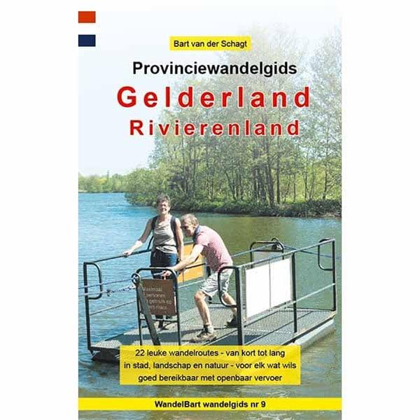 Cover provinciewandelgids Rivierenland