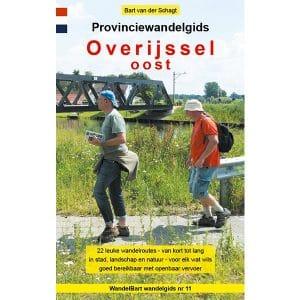 Cover provinciewandelgids Overijssel-Oost