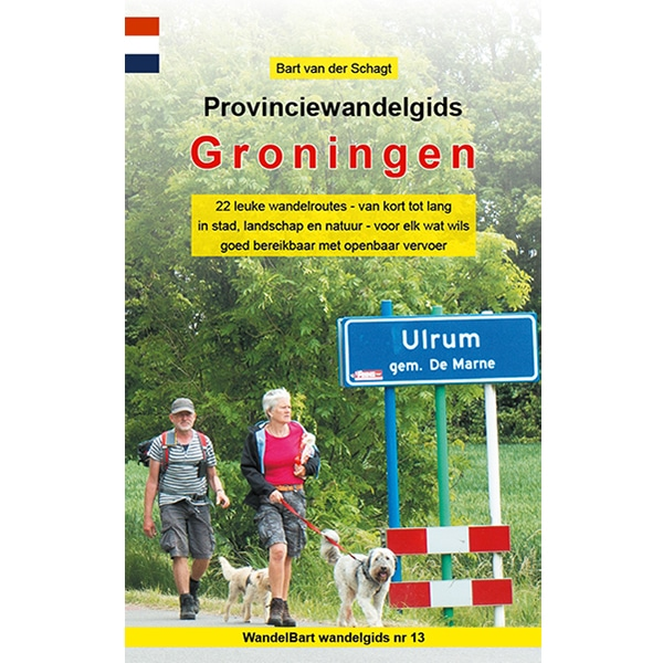 Cover provinciewandelgids Groningen