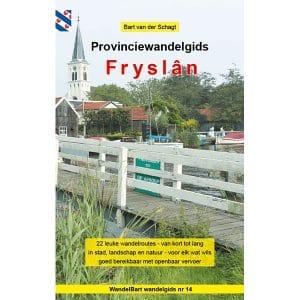Cover provinciewandelgids Fryslan