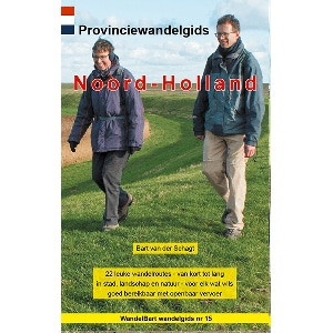 Cover provinciewandelgids Noord-Holland