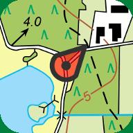 Icoon Topo-GPS