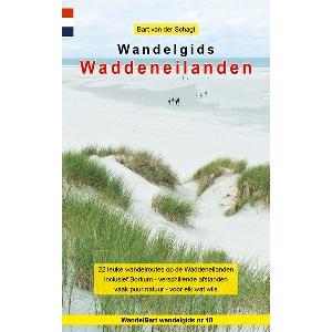 Cover wandelgids Waddeneilanden