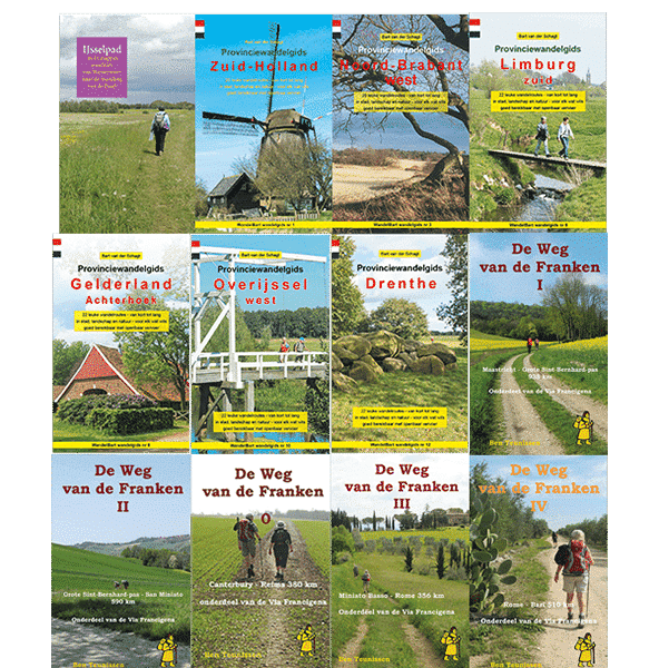 Covers wandelgidsen
